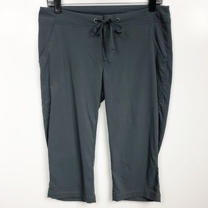 Columbia Omni Shade Carpi Pants Gray Drawstring